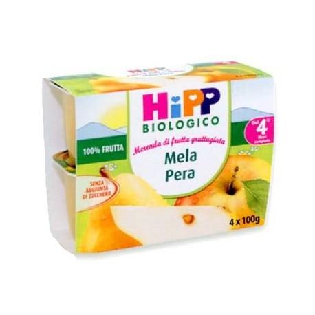 Frutta grattugiata Mela e Pera Hipp