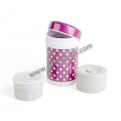 Thermos 750ml + 2 contenitori interni Nuvita