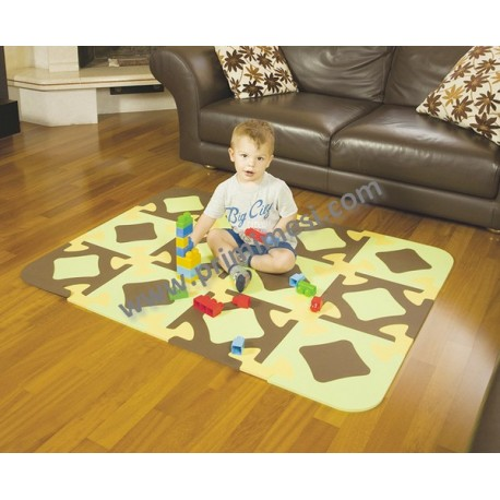 Tappeto puzzle Ok Baby - 12 tessere