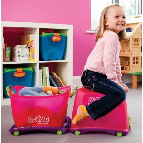 Contenitore Travel Toy Box 4 in 1 Trunki