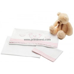 Lenzuola per lettino Loving Bear Pali