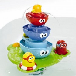 Gioco d'acqua Stack n Spray Tub Fountaine Yookidoo