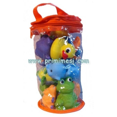 Set giochi bagnetto Baby Bath Happy Bimbo