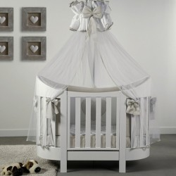 Cot Eva Baby Italia with mattress