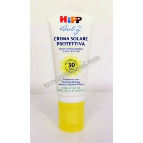 SPF 30 Protective Sunscreen Hipp 50ml