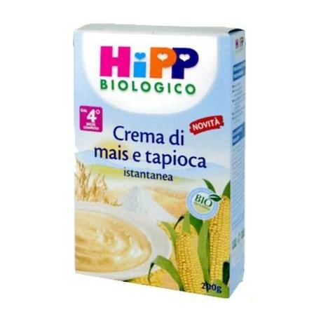 Corn cream and tapioca Hipp