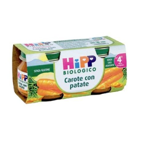 Homogenized carrots with potatoes Hipp