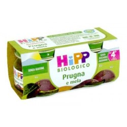 Homogenized Plum and Apple Hipp