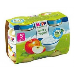Apple snack and yogurt Hipp