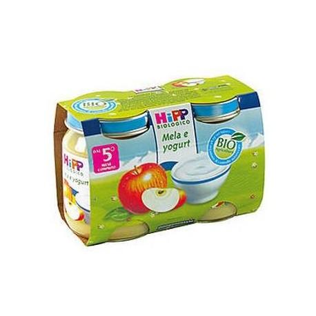 Merenda mela e Yogurt Hipp