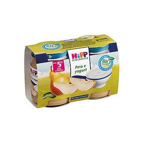 Merenda pera e Yogurt Hipp