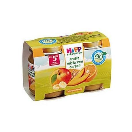 Merenda frutta mista con cereali Hipp