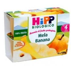 Grated fruit Apple and Banana Hipp