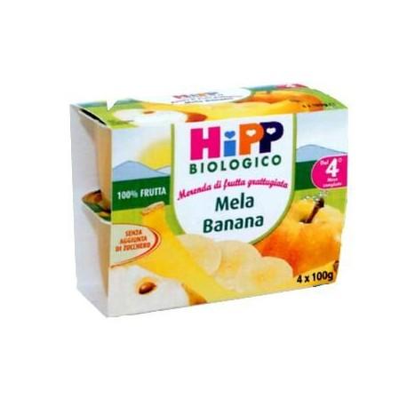 Frutta grattugiata Mela e Banana Hipp