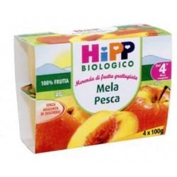 Grated fruit Apple and peach Hipp