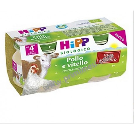 Omogeneizzato Vitello e Pollo Hipp
