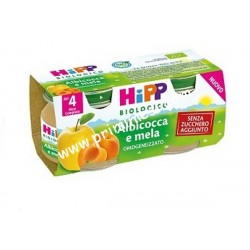 Homogenized Apricot and Apple Hipp
