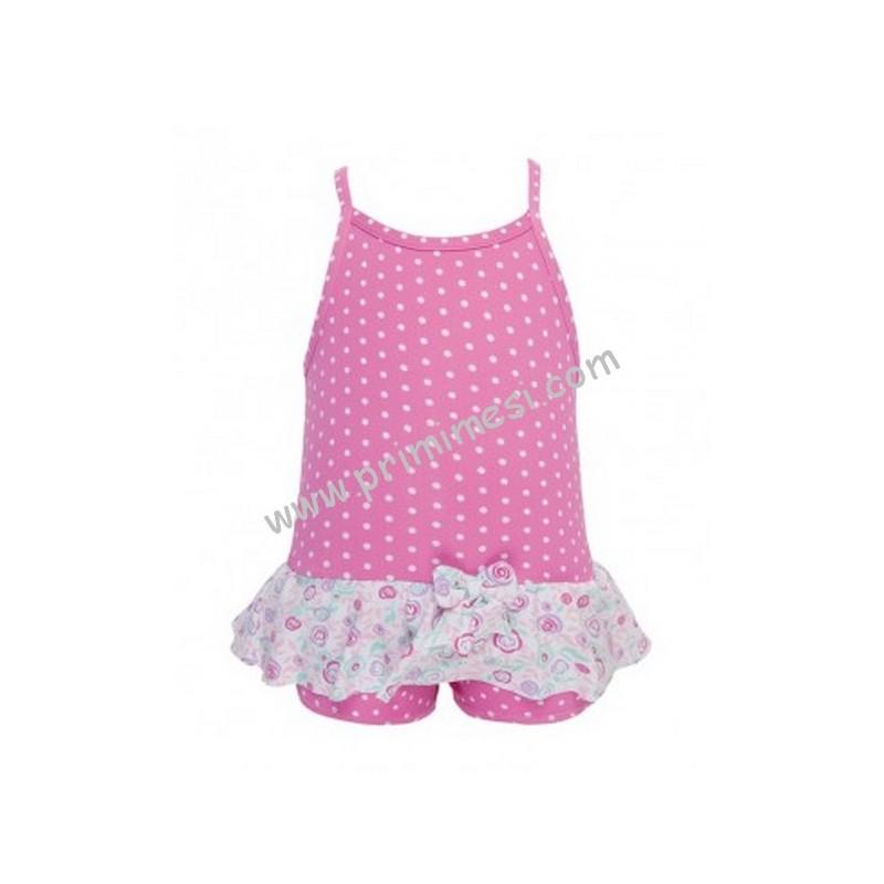 Costume da mare o piscina intero pastello archimede per bimba primi mesi - Costume neonato piscina ...