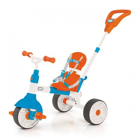 Basic stroller and tricycle with little tikes