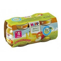 Homogenized Apple and Banana HIPP