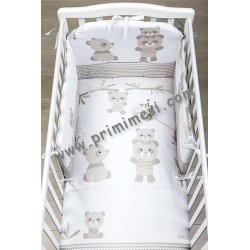 Bo-Bo Printed Full Bed Set Picci