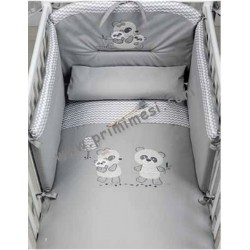 Bo-Bo Embroidered Full Bed Set Picci
