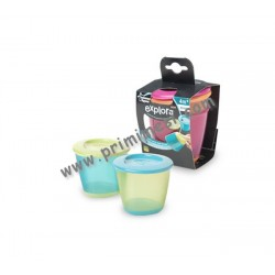 Stackable containers for weaning Tommee Tippee