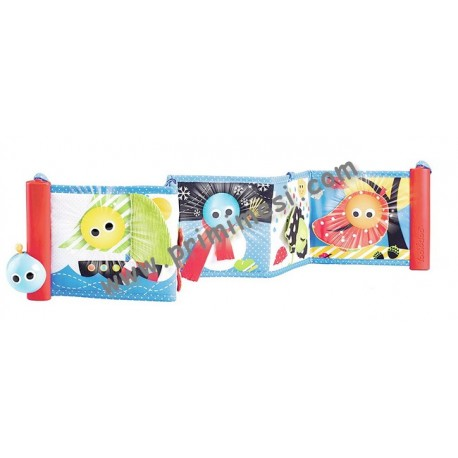 Soft Book with Accordion Opening, Lights and Sounds Yookidoo