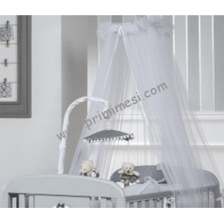 Tulle mosquito net for sunbed with Picci