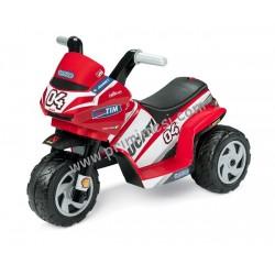 Moto elettrica Mini Ducati 6 Volt Peg perego