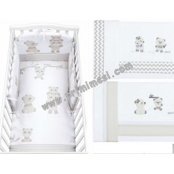 Set Pumone Bo-Bo + Sheets for sunbed Picci