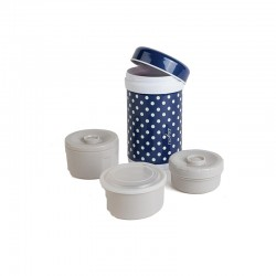Thermos 1200ml + 3 internal containers Nuvita