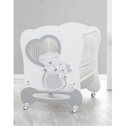 Baby cot with rocking Freddy Baby Italia mattress free