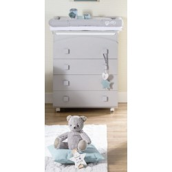 Dili Best 4 drawer Vega chest of drawers