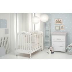 Felicity Foppapedretti Kinderbett und Babywanne / Wickeltisch mit kostenloser Matratze