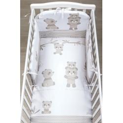 Picci Bo-Bo Modell abnehmbare Bettdecke gedruckt