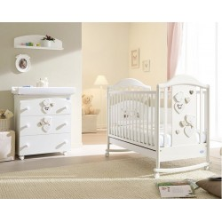 Celine Baby Room Poles with free mattress