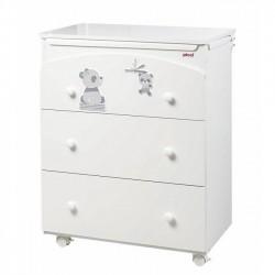Bañera / cambiador 3 cajones modelo Picci Bo-Bo