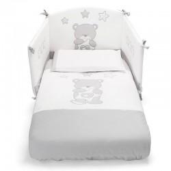 Birba Pali textile ensemble avec couette -tour de lit- taie d'oreiller