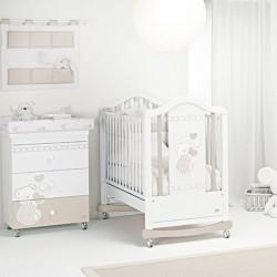 Dormitorio con sofá-cama Dolcecuore Foppapedretti con colchón gratuito
