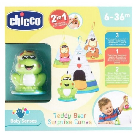 Teddy Bear Surprise Cones Chicco