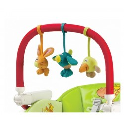 Play Bar High Chair Peg Perego arco giochi per seggiolone