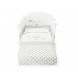 Duvet set with Bonnie Pali bumper