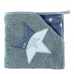 Star's triangle sponge bathrobe Picci Star