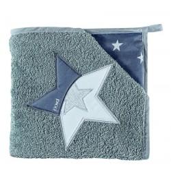 Star's triangle sponge bathrobe Picci Star