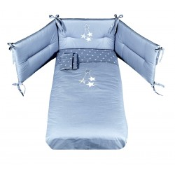 Stella Picci embroidered duvet set