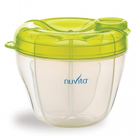 Dosing and container for milk powder Nuvita