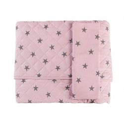 Stella Double Face bed quilt with pillowcase for Picci