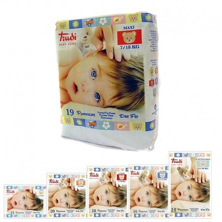 Pannolini Trudi Baby Care Dry Fit
