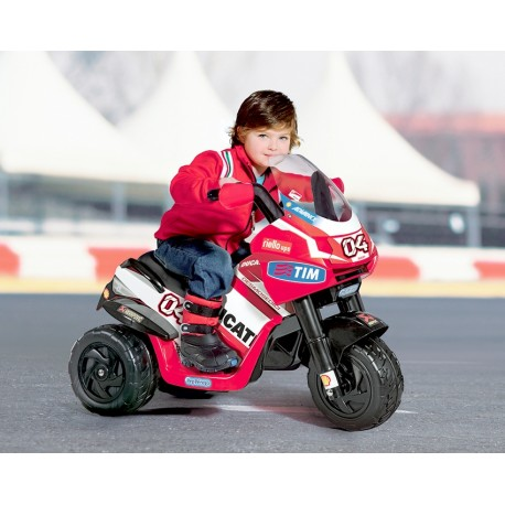 Moto Ducati Desmosedici 6V Peg Perego